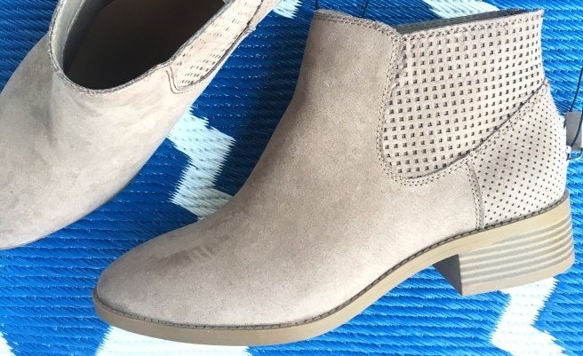 What I Bought in March: Target dv Finley Heeled Fashion Boots ($34.99)