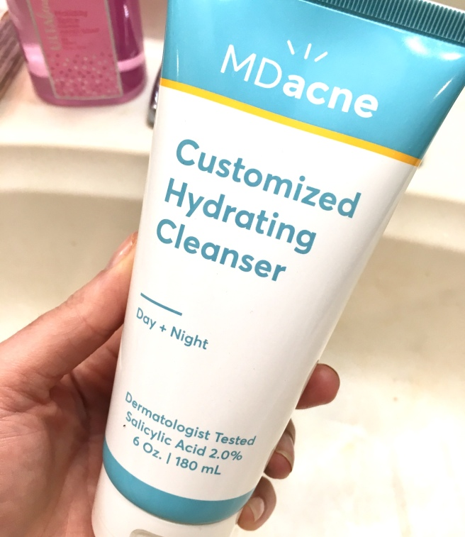 MDacne Review - Cleanser