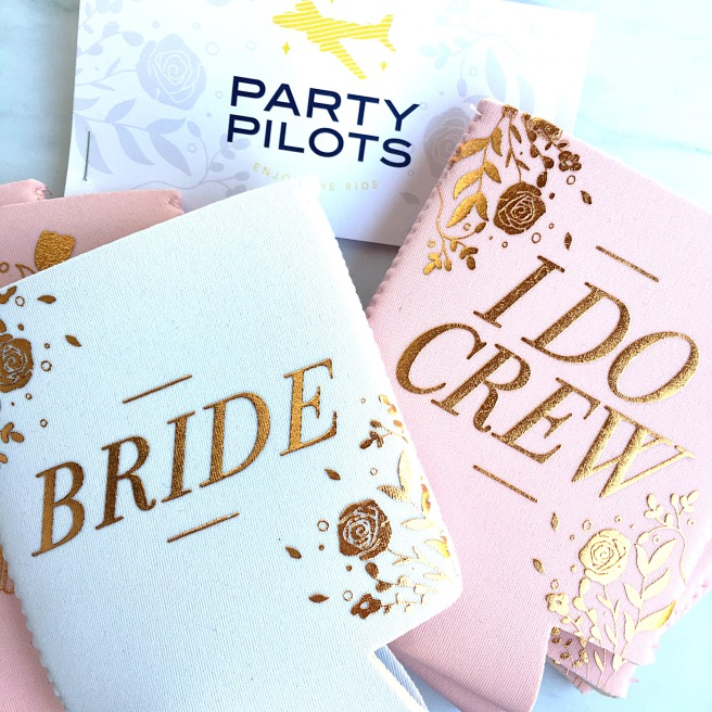 "Bridesmaid Proposal Boxes - ""I Do Crew"" Koozies"