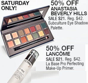 Macy's 10 Days of Glam: Day 2 - Anastasia Beverly Hills Subculture Palette & Lancome Primer