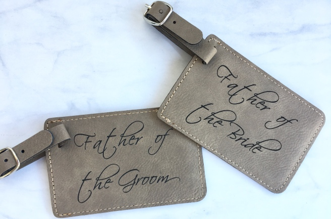 Parents of the Bride/Groom Presents - Luggage Tags