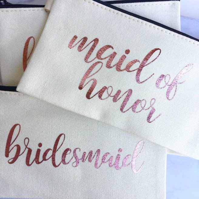 Bridesmaid Proposal Boxes - Makeup Bags