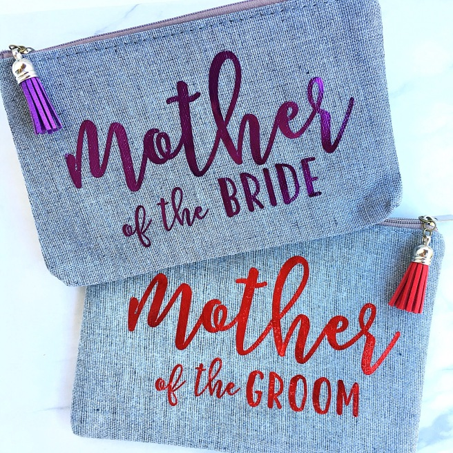 Parents of the Bride/Groom Presents - Mother of the Bride/Groom Makeup Bags
