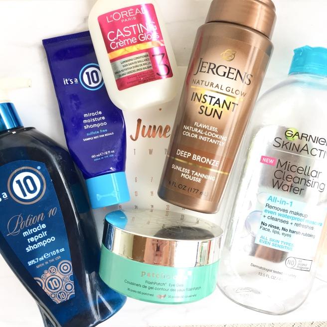 June Hair & Skincare Empties