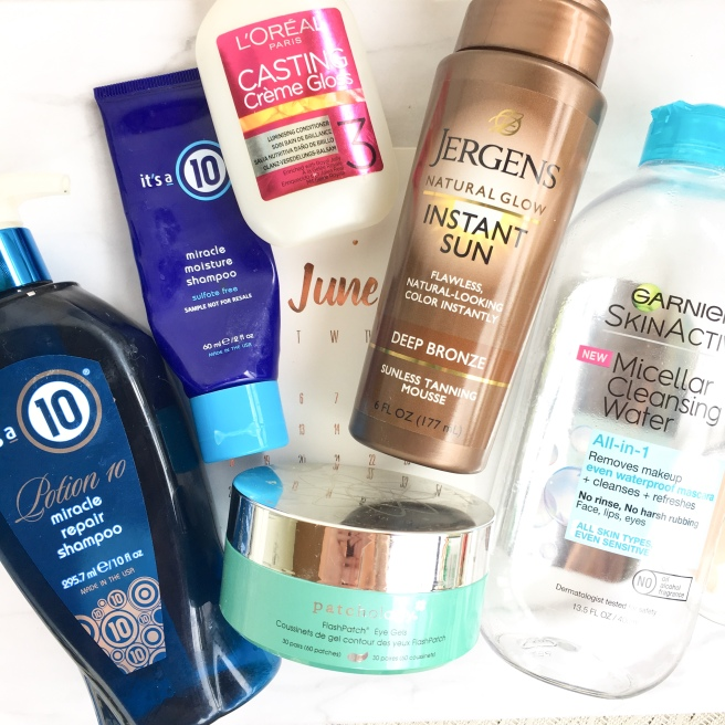 June Hair & Skincare Empties
