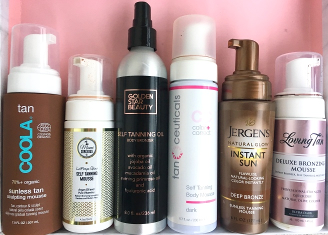 Self Tanners Review