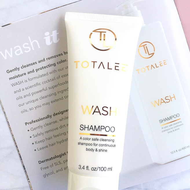 TotaLee Haircare Review - Wash Shampoo