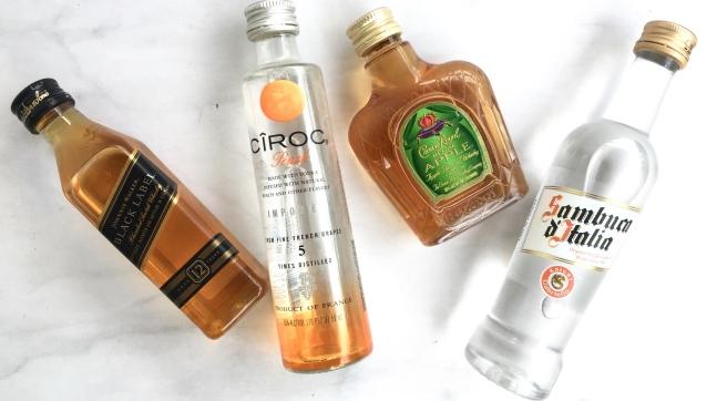Groomsmen Proposal Boxes - Mini Liquor Bottles