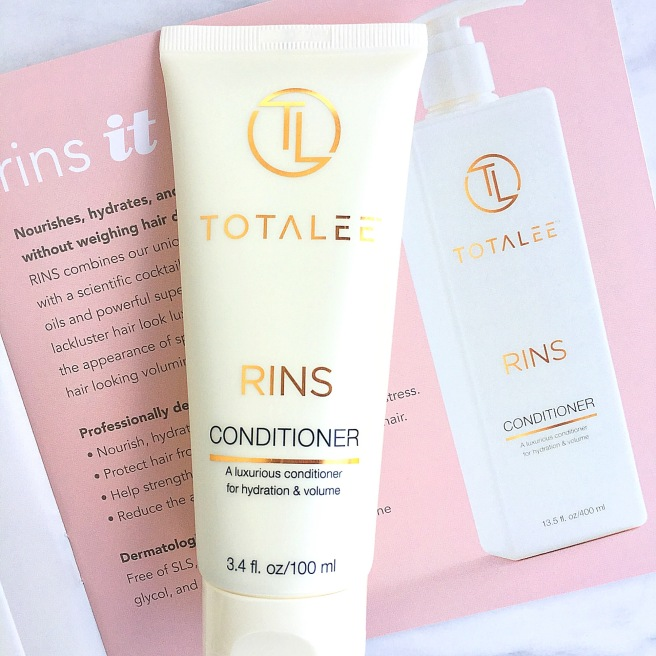 TotaLee Haircare Review - Rins Conditioner