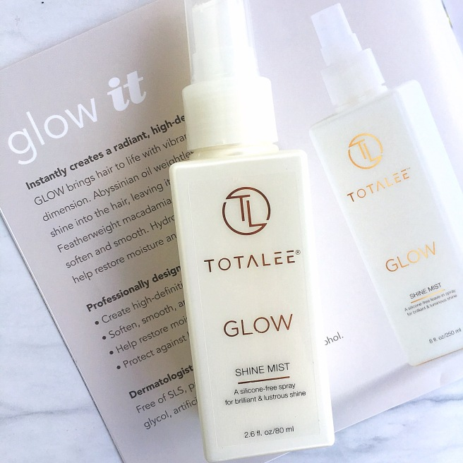TotaLee Haircare Review - Glow Shine Mist