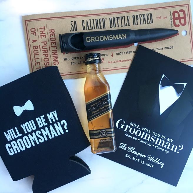 Groomsmen Proposal Boxes