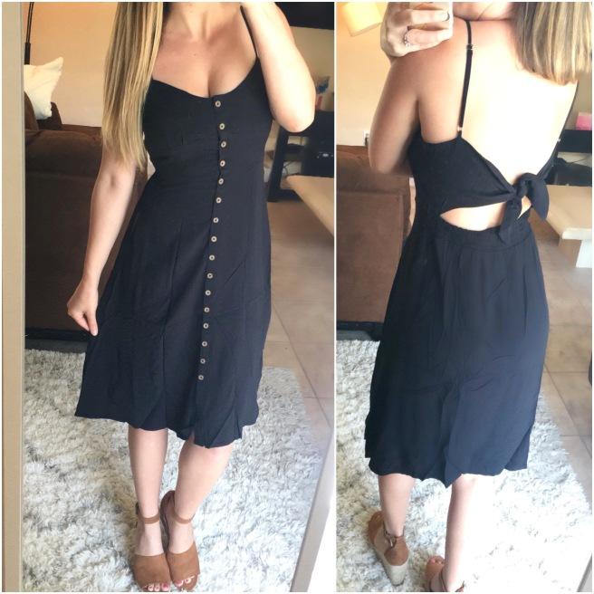 Forever21 Black Midi Dress ($23)