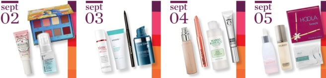 Ulta 21 Days of Beauty: Sept. 2018