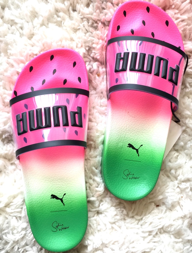 Puma x Sophia Webster Slides ($70)