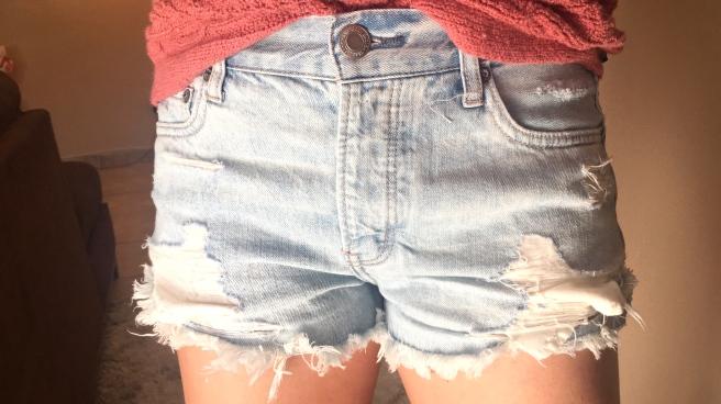 American Eagle Tomgirl Short Short