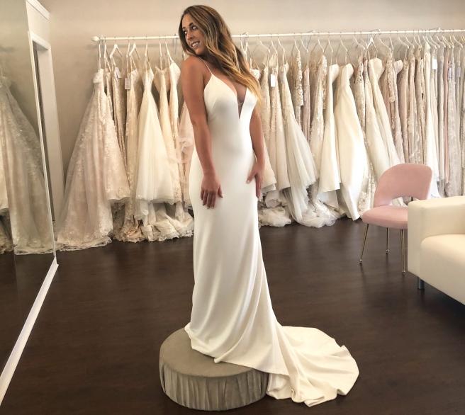 Wedding Dress Shopping at Malindy Elene in Tampa, FL (Theia 'Bruna')