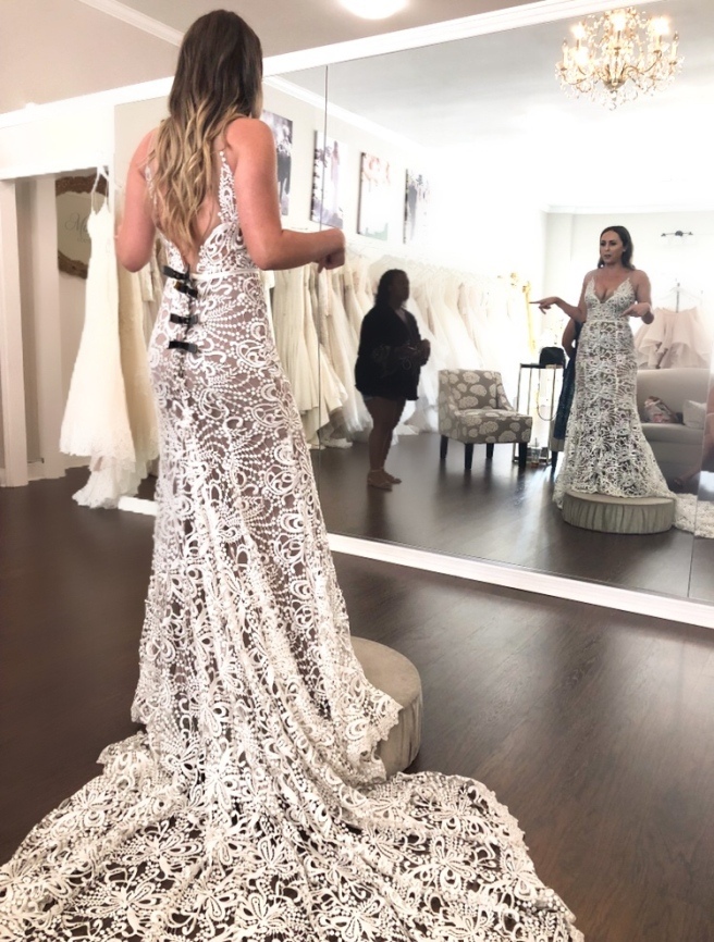 Wedding Dress Shopping at Malindy Elene in Tampa, FL (Made With Love Sasha)