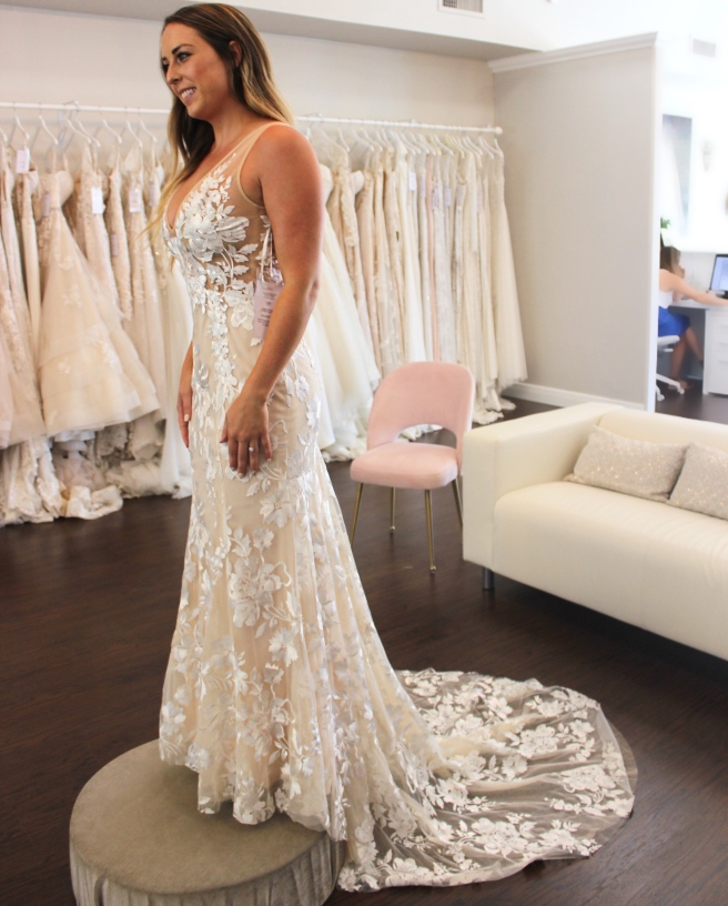 Wedding Dress Shopping at Malindy Elene in Tampa, FL (Made With Love Stevie)