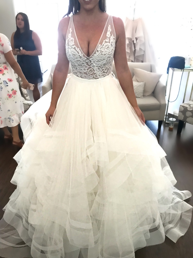Wedding Dress Shopping at Malindy Elene in Tampa, FL (Made With Love Frankie with Tulle Skirt)