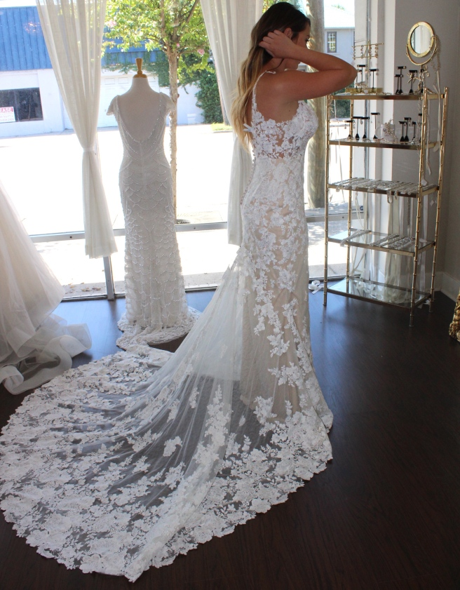 Wedding Dress Shopping at Malindy Elene in Tampa, FL (Martina Liana)