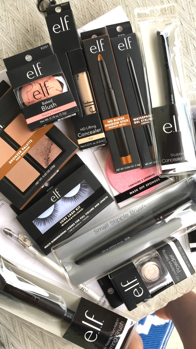 e.l.f. Cosmetics Haul & Review