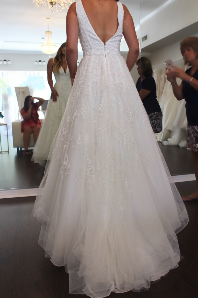 Wedding Dress Shopping at Malindy Elene in Tampa, FL (Anne Barge 'Francoise')