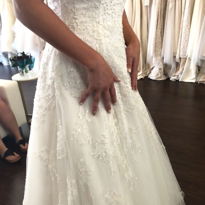 Wedding Dress Shopping at Malindy Elene in Tampa, FL (Anne Barge)