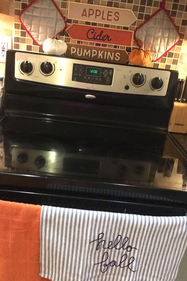 Fall Decorating - Kitchen