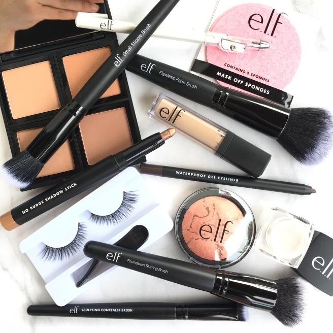 e.l.f. Cosmetics Haul & Review