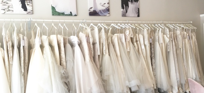 Wedding Dress Shopping at Malindy Elene in Tampa, FL