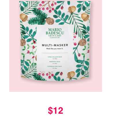 Ulta Black Friday Sale: $12 Mario Badescu Multi-Masker Set
