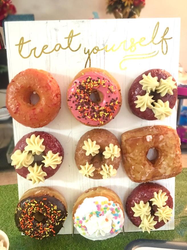 Sunday Funday Football Birthday Party Decorations - Donut Wall