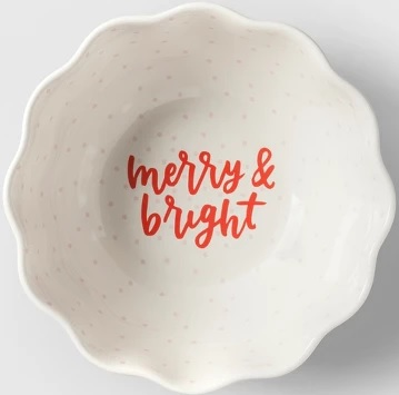 Holiday Home Decor Deals: Christmas in the City Serving Bowl