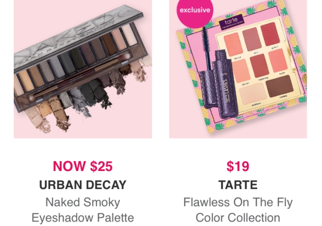 Ulta Black Friday Sale: $25 Urban Decay Naked Smoky Palette & $19 Tarte Flawless on the Fly