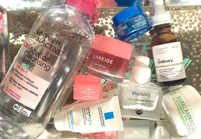 November Skincare Empties