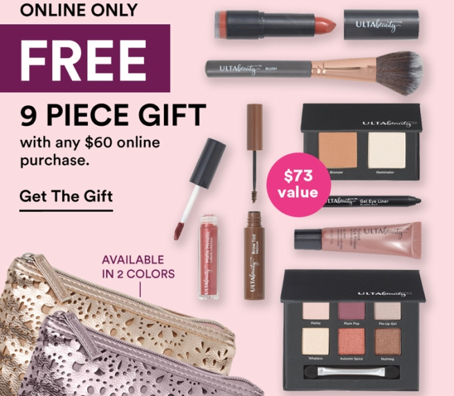 Ulta Black Friday 2018 Gift with Purchase Bag