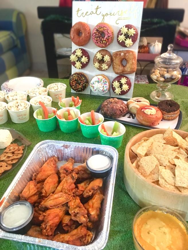 Sunday Funday Football Birthday Party Decorations