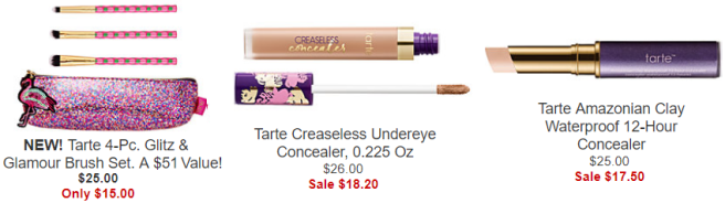 Cyber Monday Macy's Beauty Deals - Tarte