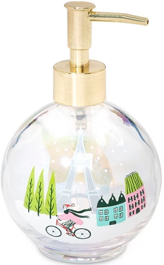 Holiday Home Decor Deals:  Snowglobe Soap/Lotion Dispenser