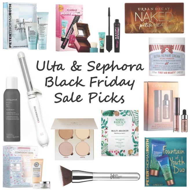 Ulta & Sephora Black Friday 2018 Sales (my picks!)