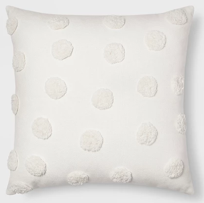 Holiday Home Decor Deals: Pom Square Throw Pillow