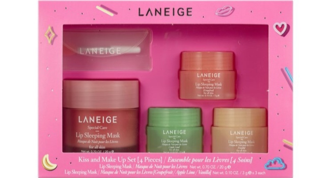 My Christmas List - Laneige Kiss & Make Up Lip Mask Set
