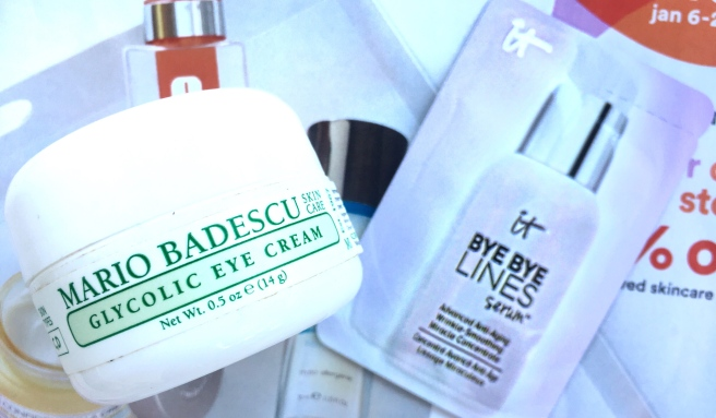 Ulta Love Your Skin Event 2019  - Mario Badescu Eye Cream & It Cosmetics Serum