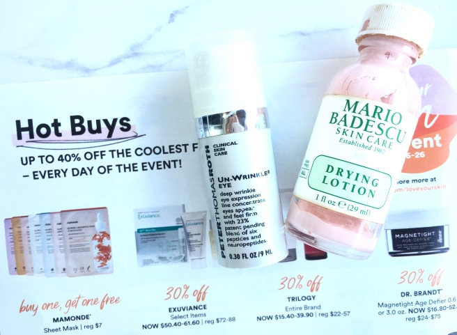 Ulta Love Your Skin Event 2019 - Hot Buys 40% Off Peter Thomas Roth & Ofra Drying Lotion